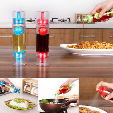 2 in 1 Cooking Olive Oil Spray Pump Fine Bottle Oil Sprayer Pot Tool For Kitchen