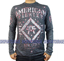 AMERICAN FIGHTER Butler FM2519 Men`s Black Long Sleeve T-shirt By Affliction