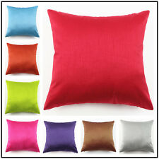 Polyester Pillow case Pure and Soft Sofa Office Bed Cushion Cover Home Decor
