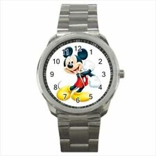 Mickey Mouse Stainless Steel Watches