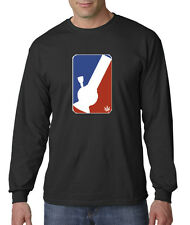 Bong Major League Professional Weed Marijuana Pipe Long Sleeve T-Shirt S-3X