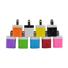 USB US Plug Travel AC Wall Home Charger Adapter for iPhone for Samsung Galaxy S7