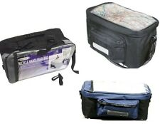 INSULATED BICYCLE HANDLEBAR BAG BIKE CYCLE FRONT PANNIER + MAP HOLDER