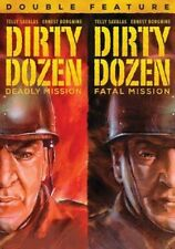 Dirty Dozen Double Feature - DVD Region 1 Brand New Free Shipping