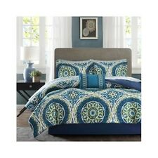 Bedroom Comforter Set 9Pc Bed In A Bag With Sheets Master Guest Suite Bedding