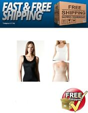 Assets by Spanx 1630 Standout Slimmers Scoop Neck Tank Top Shapewear S M L XL