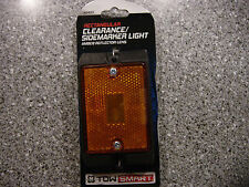 "SMART TOW Trailer Sealed 4"" RECTANGULAR AMBER SIDEMARKER LIGHT 2403"