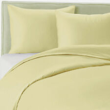400TC Egyptian Cotton SHEET SET Sateen Solid Light Gold