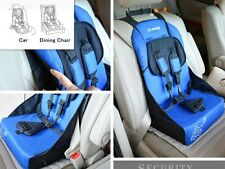 Portable Universal Baby Kid Car Safety Seat Adjustable Baby Booster Dining Seat