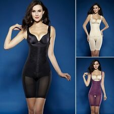 Women Seamless Full Body Shaper Waist Underbust Control Firm Tummy Cincher Suit