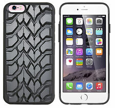 rubber bumper and hard plastic case,cover for apple,samsung, tyre tread print