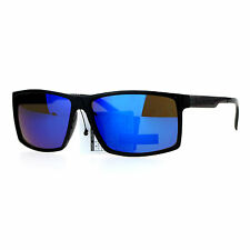 Biohazard Mens Sunglasses Rectangular Designer Fashion Shades UV 400