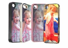Custom Personalised iphone 5 protective case cover your photo and text free p&p
