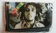 Bob Marley Wallets One Love & Bob Cloth Velcro 1 Green 1 Black Choose One NEW