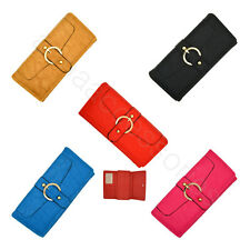 Lady Women Soft Synthetic leather Clutch Purse Wallet Long Card Purse