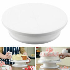 11 Rotating Revolving Cake Plate Decorating Turntable Kitchen Display Stand YK