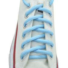 "Oval Sneakers Shoelaces ""Baby Blue"" 36"",45"" Athletic Shoelaces 1,2,4,6.12 Pairs"