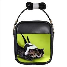 Kitten Buddies Leather Sling Bag & Women's Handbag