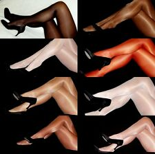 2 Superior High Glossy Tights Pic Sz Color Shimmery shiny hooters uniform peavey