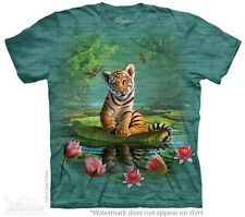 Tiger Lily Kids T-Shirt from The Mountain. Jungle Lion Zoo Childrens Sizes NEW
