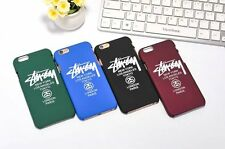 2016 Mirror Stussy Paris London New York PC case for iphone SE 5 5s 6 6s plus
