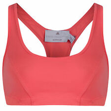 WOMENS ADIDAS by STELLA MCCARTNEY BARRICADE SPORTS BRA crop top retail $42 Pink