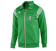 adidas MEXICO Team World Cup Soccer Track Warm Up Jacket Jersey