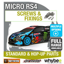 HPI MICRO RS4 [Screws & Fixings] Genuine HPi Racing R/C Standard & Hop-Up Parts!