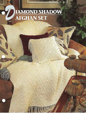 Annie's Attic Crochet Quilt & Afghan Club Afghan Patterns 6 To Choose From