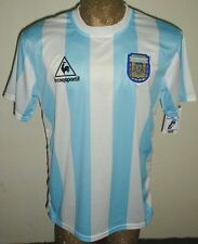 RETRO VINTAGE ARGENTINA WORLD CUP 1986 MARADONA #10 SOCCER JERSEY HOME SHIRT