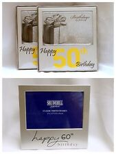 50th & 60th Birthday Photo Frames - Clearance Price