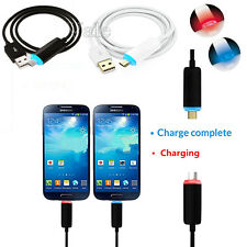 Luminous Night Visible Micro USB Fast Data Sync Charger Cable Charging Cord Lot