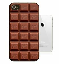 iphone4/4s case with printed Chocolate Bar design