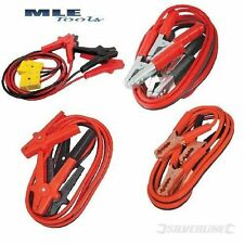 Silverline Jump leads 200 400 600A Heavy duty Surge protected automotive car