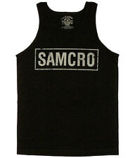 Sons Of Anarchy Samcro Boxed Logo Tank Top