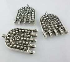 2/6/30pcs Tibetan Silver Necklace Connectors Bails Charms for Jewelry Findings