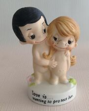 Kim Casali Love Is .wanting to protect her 1972 Figurine
