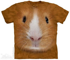 Guinea Pig Face T-Shirt From The Mountain -Adult S-5X & Child S-XL