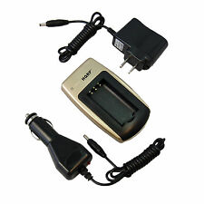 Car+ Wall Charger for OLYMPUS Camedia C D E X Series Digital Camera Battery LB01