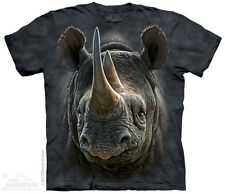 Black Rhino T-Shirt From The Mountain -Adult S-5X & Child S-XL