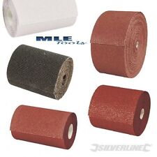 Aluminium Oxide Sanding Mesh Stearated Roll 5m 10m 50m 40 60 80 120 180 240 320