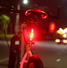 Popular USB Rechargeable LED Waterproof  Mountain Bike Taillight Warning Lights