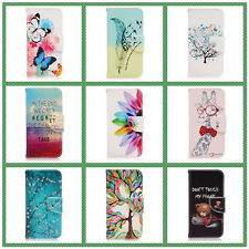 Cartoon PU Flip Wallet Stand Leather Cell Case Soft Cover For LG G5 Phones