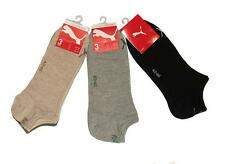 9 pair x PUMA Mens Low Cut Sports Ankle Socks size EU 43 - 46 UK 9-10 US 10-12