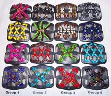 Double Magic Hair Combs, African Style Butterfly Clips, Clearance Set, SK