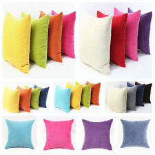 Big Square Corduroy Throw Sofa Pillow Case Cushion Cover Home Sofa Decor 55X55cm