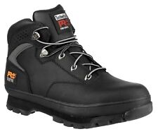 Timberland Pro Euro Hiker Black 6201064 Steel Toe Work Safety Boots Mens