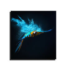 Framed, Ready To Hang !! Print Picture HD Canvas Wall Art Painting - Parrot
