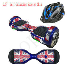 6.5 Inch Self-Balancing Two-Wheel Scooter Skin Hover Cover Stickers+Bag+Helmet