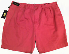Mens Big & Tall Polo by Ralph Lauren Classic Pleated fit Shorts NEW NWT